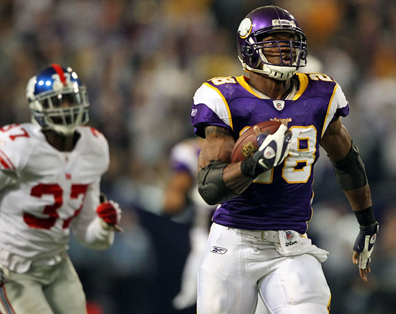 Adrian Peterson Giants