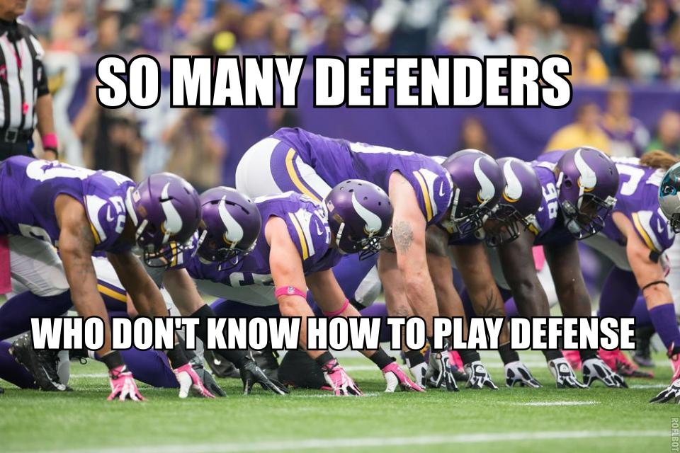 Bad vikings defense