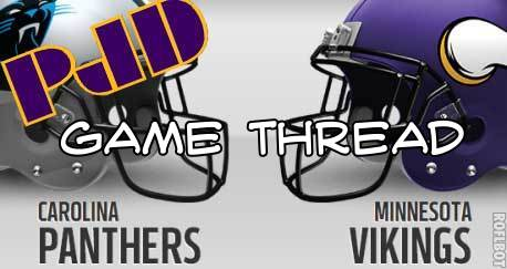 panthers vikings game thread