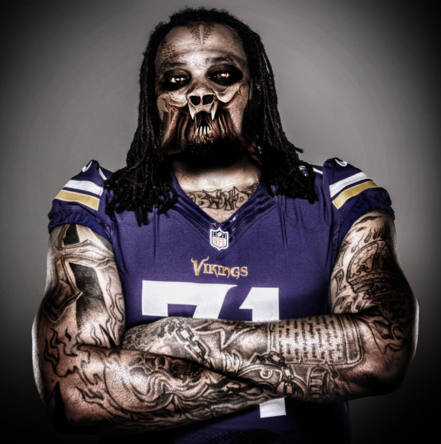 Phil Loadholt Predator