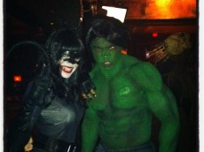 adrian peterson Halloween 2012