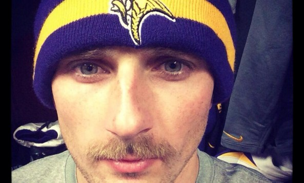 blair walsh mustache