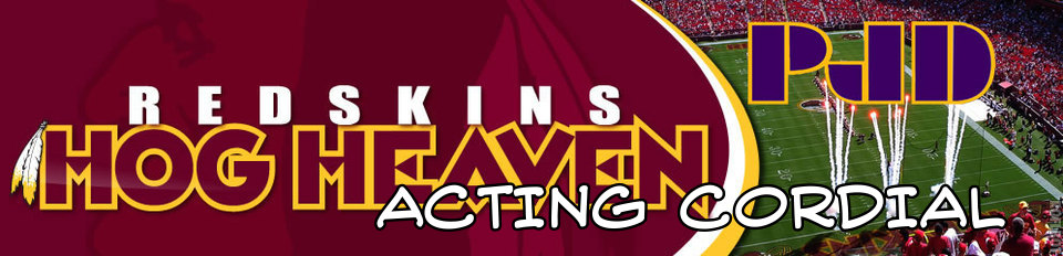 Acting Cordial Redskins