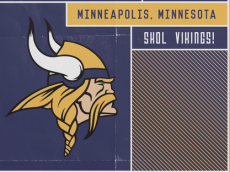 small vikings poster
