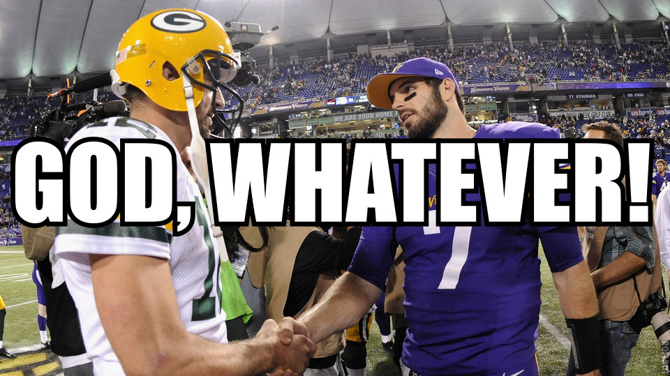 Vikings Packers Banner