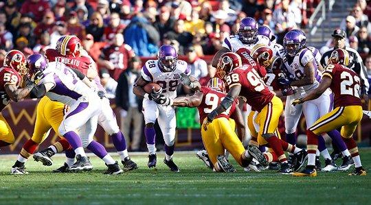 Purple Jesus Vikings Redskins
