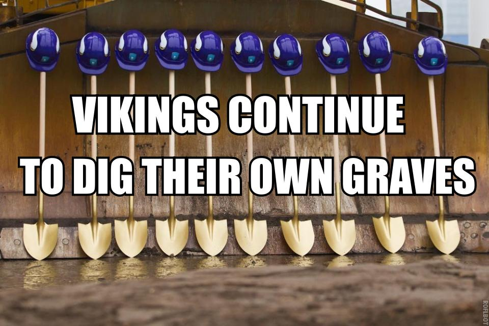 Vikings stadium ground breaking