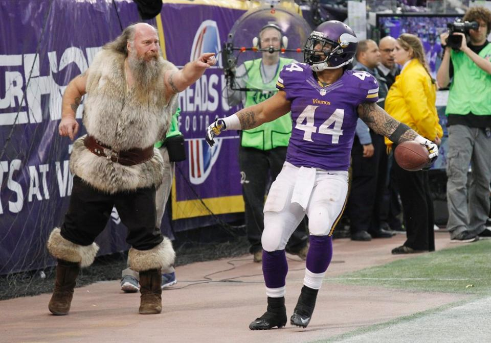 Matt Asiata Vikings