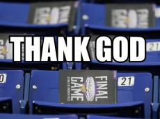 thank god metrodome final 2013