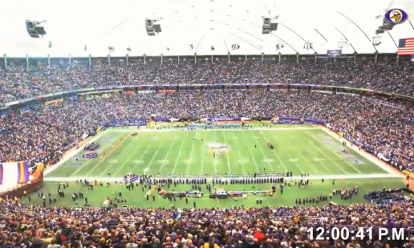 vikings final metrodome game lapse