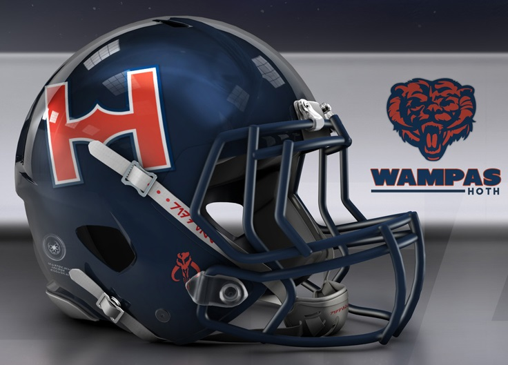 Bears Star Wars Helmet