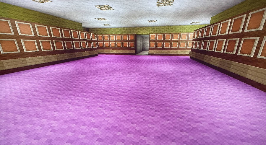 Minecraft Dome Locker Room