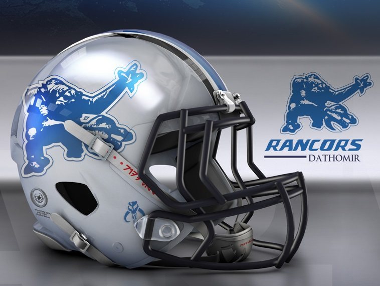 Lions Star Wars Helmet
