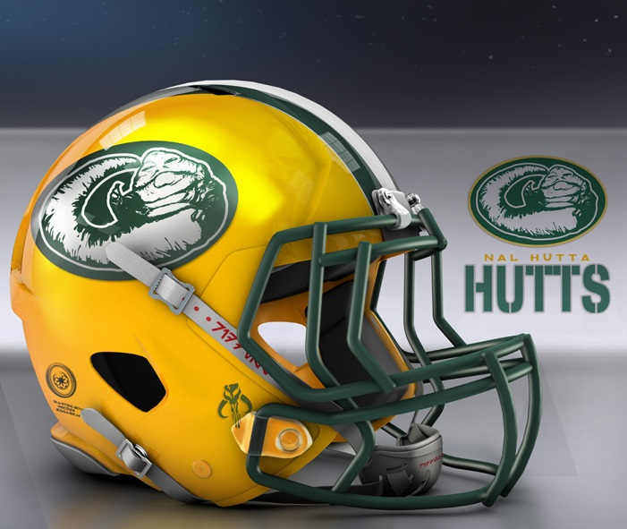 Packers Star Wars Helmet