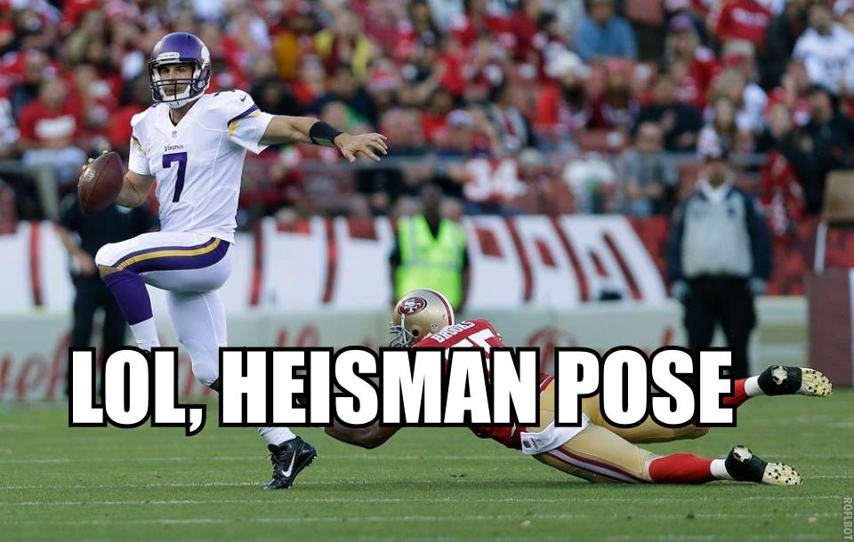 Ponder Heisman pose