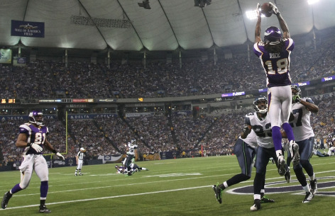 sidney rice vikings