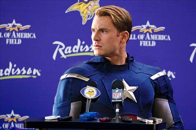 Captain America Vikings