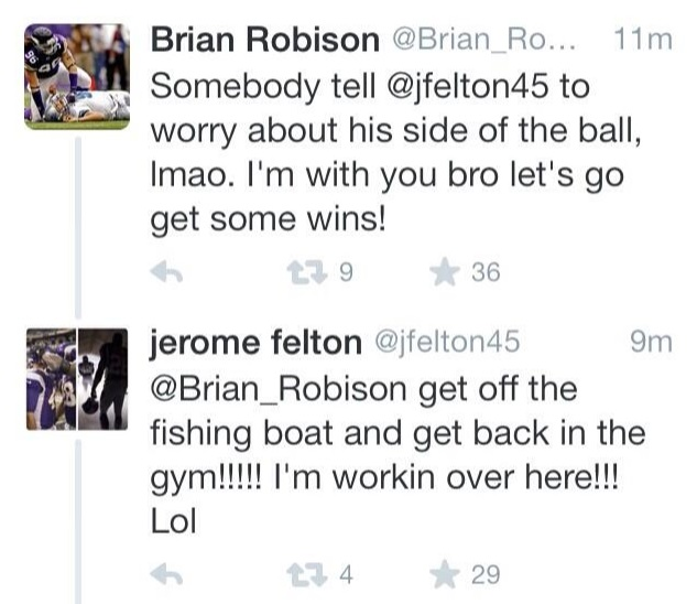 Robison Felton Tweets