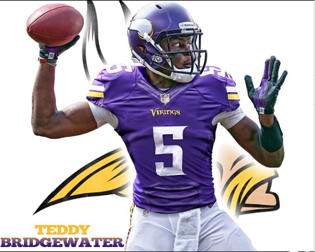 Teddy Bridgewater Vikings