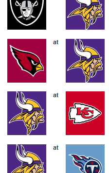 vikings 2014 preseason schedule
