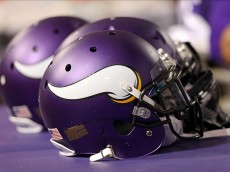 vikings helmet draft board 2014