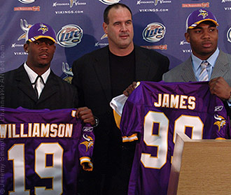 williamson james vikings draft