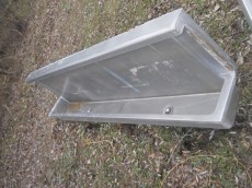 metrodome trough