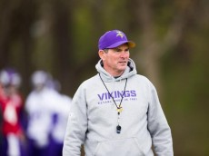 mike zimmer vikings coach