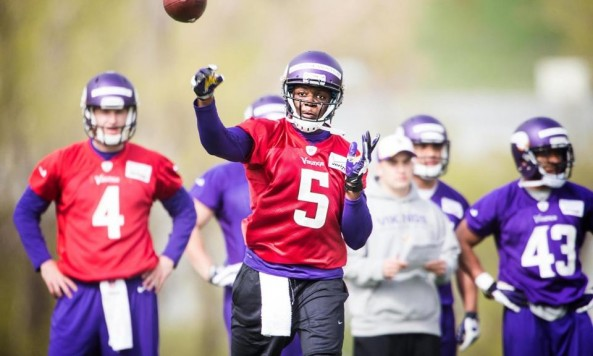 teddy bridgewater vikings may 2014 2