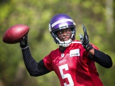 teddy bridgewater vikings may 2014