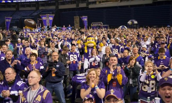 vikings draft party 2014