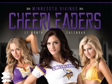 2014 vikings cheerleader calendar