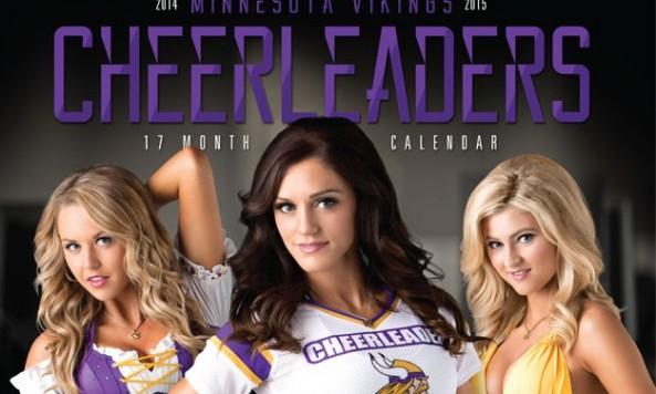 2014 vikings cheerleader calendar