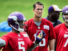 2014 vikings quarterbacks camp bridgewater ponder cassel