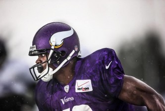adrian peterson training camp 2014