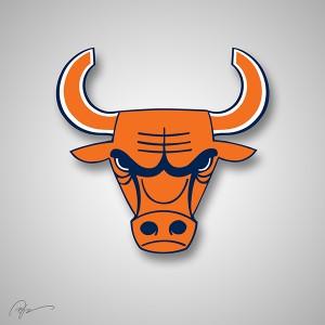 bulls bears logo