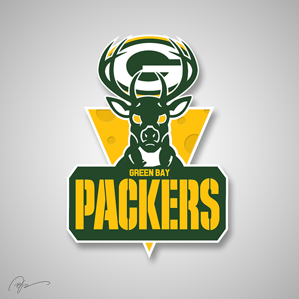 packers bucs logo