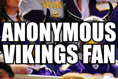 anonymous vikings fan