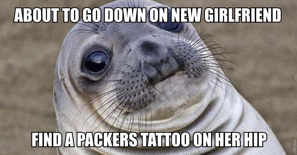 awkward seal meme