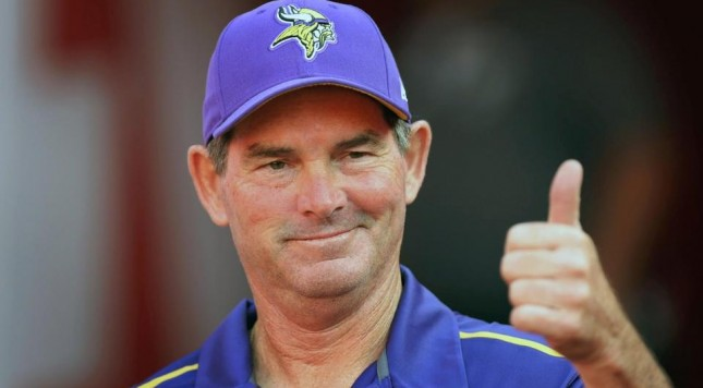mike zimmer vikings chiefs 2014