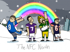 nfc north the draw play