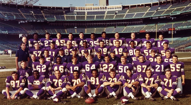 minnesota vikings team photo