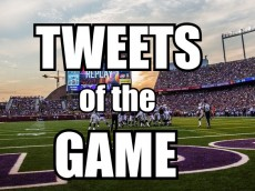 tweets of the game