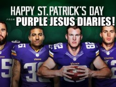 VIKINGS ST PATRICKS DAY 2015