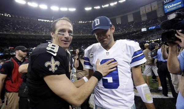 Drew Brees Chargers Drew Brees Tony Romo
