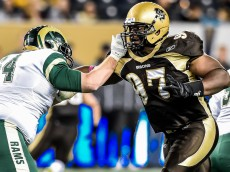 Winnipeg, Manitoba - Bisons Football vs Regina Rams October 2. Jeff Miller-Bison Sports-