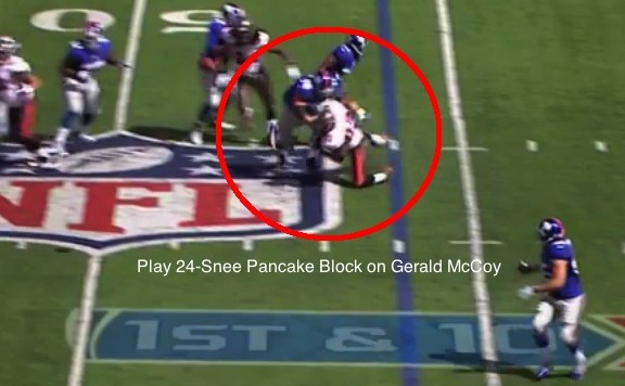 Snee Pancake on McCoy 1
