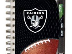 Raiders Notepad