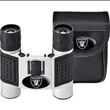 Raiders binoculars