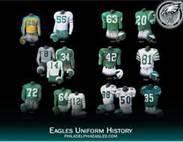 Eaglesuniformhistory